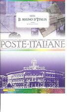 """FOLDER FILATELICO ITALIA 2006 - MOSTRA """"IL REGNO D'ITALIA"""" MONTECITORIO -"""
