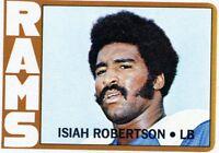 Isiah Robertson1972 Topps Rookie Card #215