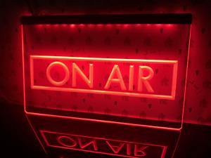 Neon Light Sign I480 On Air Recording Studio Music New Power Saving Led Lights✅
