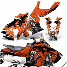 Sled Wrap for Polaris AXYS RUSH Pro S Graphic Snow Decal Kit Snowmobile REAP ORG