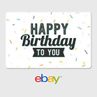eBay Digital Gift Card - Happy Birthday to you -  Email delivery