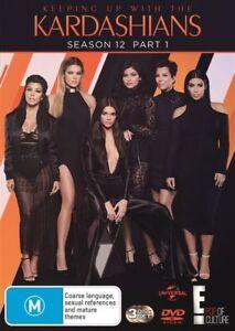 Keeping Up With The Kardashians : Season 12 : Part 1 (DVD, 3-Disc Set) NEW