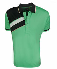 New Sligo Wear Golf Marshall Voltage Polo Shirt Mens Size- Extra Small