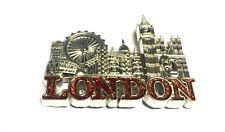 LONDON SCENE METAL FRIDGE MAGNET -  BRITISH SOUVENIRS PHONE BOX MAGNET x 12