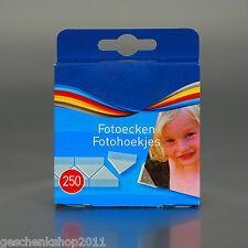 Fotoecken Fotokleber Fototapes Selbstklebend Fotoecke Photoecken 250 er Pg