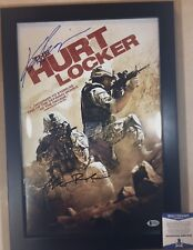 The Hurt Locker KATHRYN BIGELOW/MARK BOAL Dual Signed 12x18 Movie Poster BECKETT