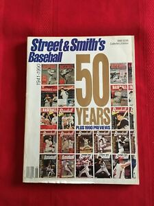 1990 Street & Smith's Baseball 50th Anniversary Yearbook / DiMaggio / Mantle