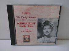 CDH 7695202 Lehar The Merry Widow Schwarzkopf Gedda Kunz / Ackermann