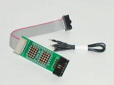 Prüf Adapter 10 pol. Flachkabel , Pfostenverbinder , Wannenstecker 230460-A