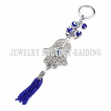 Lucky Evil Eye Car Hanging Pendant Ornament Accessories Evil Eye Key Ring Chain