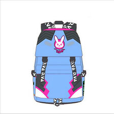 NEW Game Overwatch DV.A school Backpack Causal Canvas Shoulder Bag _GAIGAI