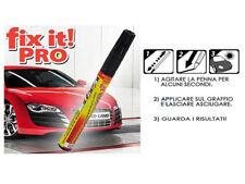 FIXIT TV VISTO PRO IN PENNARELLO RIMUOVI RIPARA GRAFFI AUTO MOTO ottimo!! qn