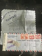 1941 Buenos Aires Argentina Censored Cover to Toronto Canada Letter Enclosed