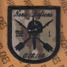 Troop 1 C Co 2nd Bn 10th Special Forces Group Airborne ODA OCP Hook & Loop patch
