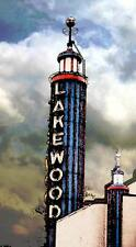 """Collectable Dallas Historical Sites, """" LAKEWOOD THEATHER"""", watercolor print"""