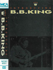 B B KING INTRODUCING B B KING CASSETTE ALBUM ELECTRIC BLUES ROCK MCA RECORDS