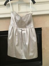 Shoshanna Gold Metallic Dress - Size 6