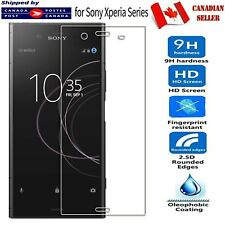 For Sony Xperia XA1 Ultra XA2 XZ2 Compact Tempered Glass LCD Screen Protector