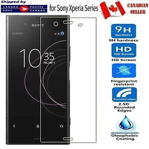 For Sony Xperia XA1 Ultra XA2 XZ2 Compact Tempered Glass LCD Screen Protector