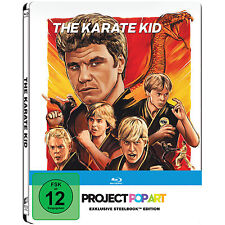 BLU-RAY  THE KARATE KID STEELBOOK - Project Pop Art - NEU & OVP