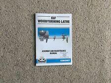 CORONET ELF Woodturning lathe instruction manual