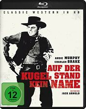 NO NAME ON THE BULLET - Blu Ray Region B/UK - Audie Murphy
