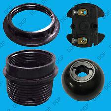 E27 Black Period Style Pendant Socket Edison Screw ES Light Bulb M10 Lamp Holder