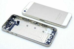 iPhone 5S A1453, A1457, A1518, A1528 Akkudeckel Backcover Power Volume Flex Gold