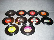 Lot of 10 Misc. 45 RPM Records, The Archies, Slim Whitman, Etc.,Collectibles