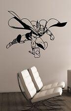 Thor Wall Sticker Vinyl Decal Marvel Comics Superhero Art Room Bedroom Decor th3