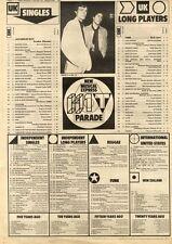 5/9/81PN02 NME CHARTS PAGE ANEKA : JAPANESE BOY NO.1