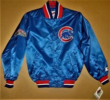 CHICAGO CUBS ROYAL BLUE WINDBREAKER JACKET - SIZE MEDIUM - (Inventory #2-0168)
