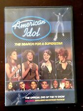 American Idol The Search for a Superstar DVD, 2002 Kelly Clarkson, Simon Cowell