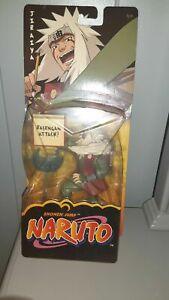 2002 mattel naruto action figures Jiraiya Rasengan Attack