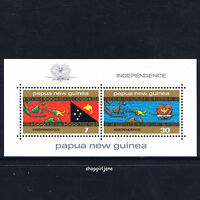 1975 - Independence of Papua New Guinea PNG - mini-sheet - MNH