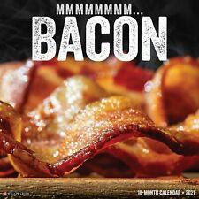 Bacon 2021 Wall Calendar (Free Shipping)