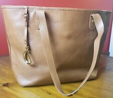 Lauren by Ralph Lauren leather handbag, tote,purse, brown