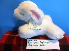 Eden Special Beginnings White Lamb Plush (310-2805)