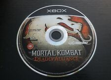 JEU Microsoft XBOX : MORTAL KOMBAT DEADLY ALLIANCE (loose, envoi suivi)