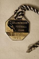 Collingwood - Vintage - 1990 - Members Badge - Premiership Year  !! Rare.