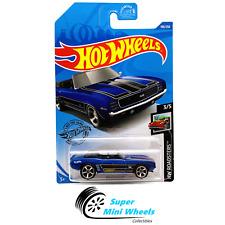 Hot Wheels '69 Camaro Convertible Car (Blue) HW Roadsters 3/5 2020 K&L Case #190
