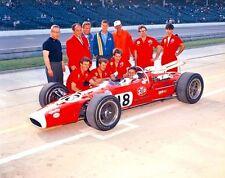 FORD LOTUS Racer Vintage GP F Indy Coche De Carreras 12 1960s Exótico DEPORTE