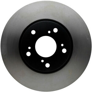 Disc Brake Rotor-Black Hat Front ACDelco Pro Brakes 18A912
