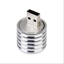 3W Aluminum USB LED Light Lamp Socket Spotlight Flashlight White Light FR