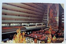 Walt Disney World Grand Canyon Concourse Contemporary Resort Postcard Old View