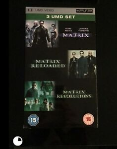 Sony UMD The Matrix Trilogy