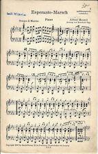 Noten für Orchester * Esperanto-Marsch