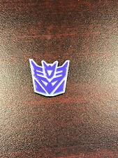 Custom 3D Decepticon Logo for DX9 Capone Attila Transformers Menasor