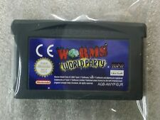 Worms World Party - Edition Française - Nintendo Game Boy Advance GBA