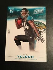2015 Panini Black Friday Thick Parallel T.J. Yeldon Jacksonville Jaguars 30/50